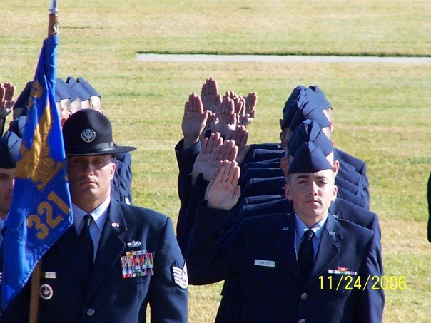 oath of enlistment 11Nov06